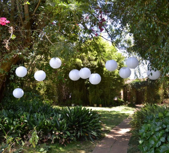 #gardendecor #chinesepaperlanterns